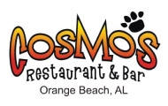 Gulf Shores post half-marathon / 5K food from Cosmos Bar and Grill